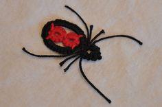 Crochet a Black Widow Spider