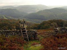 Cefn Coch, mid Wales.