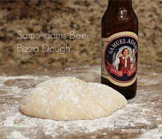 Sam Adams Beer Pizza Dough | EricasRecipes.com