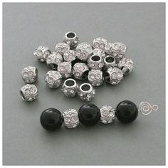 Metall Perle 12 mm