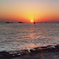 Ibiza sunset from kumara's