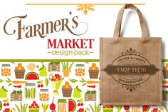 Check out Farmers Market Design Pack by Cocoa Mint on Creative Market