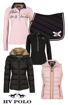 HV Polo Light Pink-Brown Te bestellen op www.rsruitersport.nl