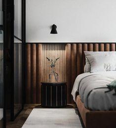 western home decor Apartment Inspiration // Bureau Linterio Hotel Room Design, Bedroom Bed Design, Home Bedroom, Modern Bedroom, Bedroom Decor, Loft Interior, Interior Design, Copper Interior, Western Style