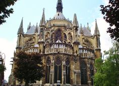 Reims Cathedral, France by Jean-Paul Lauwereys