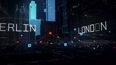 Trailer for the website Watch_Dogs WeareData, that gathers publicly available data about Paris, London and Berlin, on an impressive real-time 3D map.