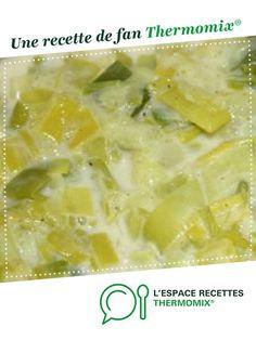 Fondue de poireaux WW par Fifibrindacier. Une recette de fan à retrouver dans la catégorie Accompagnements sur www.espace-recettes.fr, de Thermomix®.