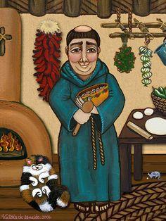 San Pascual Painting - San Pascual Fine Art Print - Victoria De Almeida