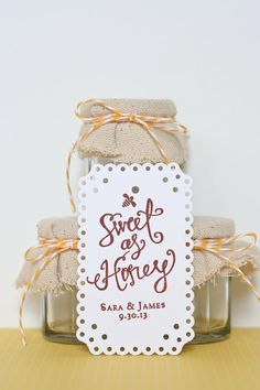 Sweet as Honey Custom Personalized Wooden Stamp by Amber Housley