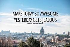 Make Today So Awesome Yesterday Gets Jealous. Explore more motivational quotes from Cheers, Your Motivation. Black Dog Depression, Depression Self Help, Destiny Quotes, Courage Quotes, Family Hurt Quotes, Positive Quotes, Motivational Quotes, Positive Life