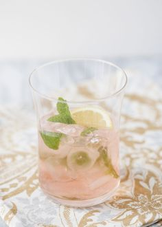 If you want a drink with more of a bite to it (in a good way!), then here you go. The spicy ginger beer and sour lime bitters add a sharp, satisfying flavor.