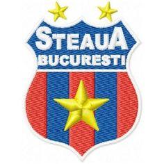 Folders, Bucharest, Champions League, Romania, Machine Embroidery Designs, Soccer, Sport, Logos, Pattern
