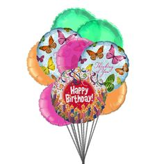 Balloons full of excitement : Send the #birthday #balloons full of excitement to tell your loved ones that you are #thinking of them on this special day.