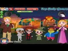 Baby Hazel Games Movie - Baby Hazel Halloween Night - Dora the Explorer