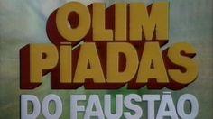 Comemoração dos 25 anos dos trapalhões nas olimpíadas do faustão.