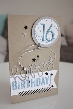 Happy Birthday Gorgeous Cards and Wishes - Happy Birthday Time Simple Birthday Cards, Birthday Cards For Boys, Funny Birthday Cards, Handmade Birthday Cards, Birthday Kids, Second Year Anniversary Gift, Funny Anniversary Cards, Happy Birthday Gorgeous, Karten Diy