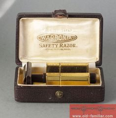 rare Wardonia Safety Razor  Made in England with  by oldfamiliar1