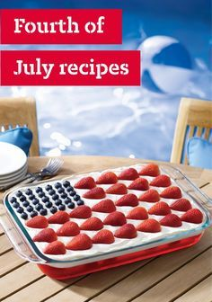4th of july side desserts