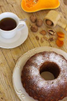 Cinco Quartos de Laranja: Bolo de abóbora com frutos secos