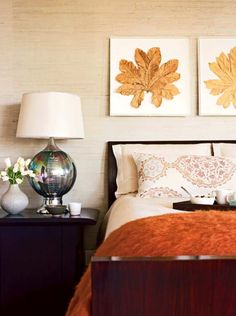With classic aesthetics and simpel details,who else can never get enough of some good 29 Cozy Fall Bedroom Decoration Ideas ?Keep scrolling for some serious interior inspo! Warm Color Schemes, Decor, Bedroom Inspirations, Bedroom Design, Fall Bedroom, Fall Bedroom Decor, Home Decor, Room Decor, Stylish Bedroom