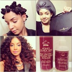 .@muchmorethanbeauty | For the #ladies who wanted to know what I used to set my #bantuknots. I used ... | Webstagram