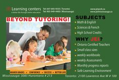 For more information or to book an appointment contact us at (647) 693-9335 or visit our website at www.jeiyork.ca #education #toronto #school #learning #tutoring #children #parents #torontomoms #canada #jei #math #english #courses #university #college High School Credits, Learning Methods, Progress Report, University College, How To Gain Confidence, Learning Environments, Learning Centers, Better Life, Assessment