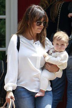 Kourtney Kardashian Kourtney Kardashian with her daughter Penelope Scotland Disick
