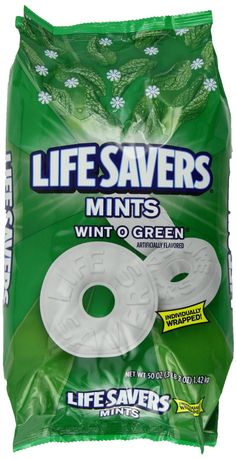 LifeSavers Hard Wint-O-Green, 50-Ounce Bags (Pack of 2): Amazon.com: Grocery & Gourmet Food