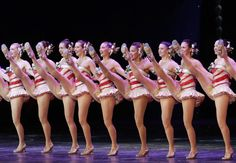 The Rockettes dance on stage at the Opening Performance of the Radio City Christmas Spectacular at Radio City Music Hall in New York City on November 13, 2014.  See the full gallery here: http://upi.com/3176658