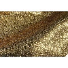 Glanzstoff Casino gold, 308 cm breit