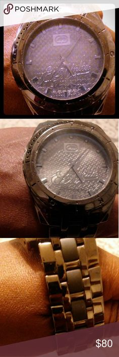 Men's watch Marc Ecko watch.. It will need a battery haven't been worn but it's a nice watch Marc By Marc Jacobs Accessories Watches