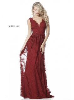 Sherri Hill 51562 Elegant Lace Evening Gown Sherri Hill Homecoming Dresses, A Line Prom Dresses, Gala Dresses, Wedding Dresses, Bridesmaid Dresses, Lace Evening Gowns, Formal Evening Dresses, High Low Chiffon Dress, Mode Chanel
