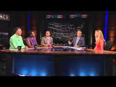 """Real Time with Bill Maher: Ann Coulter on Immigration (HBO) - YouTube Definitely one to watch....""""when Bill references Ann's imaginary friend"""" great stuff! Coulter is a lunatic! And we continue to give her a stage for her lunacy."""