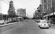 Avenida de los Insurgentes, muy cerca del barrio de Mixcoac, en la zona sur de la Ciudad de México.
