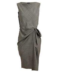 LANVIN | Checked Wool Dress £1,205 / 1,746,000won