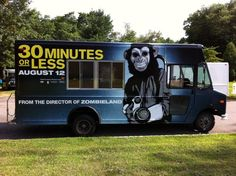 Movie Promo Truck   30 minutes or less