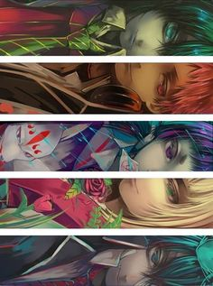 Amaimon, Shima, Izumo, Shiemi and Rin