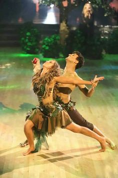 DWTS Sadie and Mark (Adam & Eve)