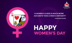 Classic Rummy Team Wishes Every Women A Happy Women's Day! Happy Woman Day, Happy Women, If Rudyard Kipling, Every Woman, Ladies Day, Free Games, Indian, Classic, Derby