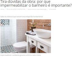 Porquê devo impermeabilizar meu banheiro? 🤔 Contamos para você quais os benefícios de fazer as consequências de não fazer! Corre lá no nosso blog! www.rokrisa.com.br/blog