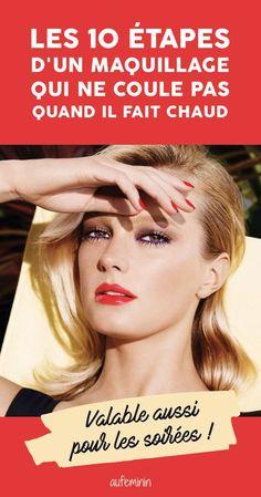 Conseils make-up : comment faire pour que le maquillage ne coule quand il fait chaud ?