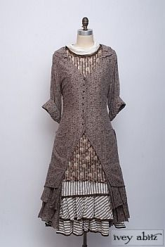 Limited Edition Wildefield Frock by Ivey Abitz