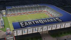 Future home of the San Jose Earthquakes major league soccer team