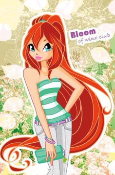 Bloom Spring Outfit by alamisterra on DeviantArt Sailor Moon, Winx Magic, Las Winx, Instagram Cartoon, Girls Are Awesome, Bloom Winx Club, Anime Girl Dress, Childhood Tv Shows, Spring Girl