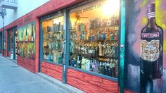 Finished work by Adrian. Spectacular! The best liquor store around the corner of my lovely home.