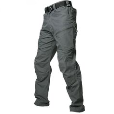 Men's Urban Tactical Combat Pants Unique Casual Pants