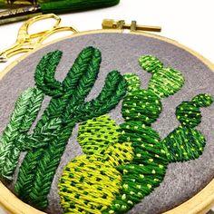 CREAMENTE | Detail •  • I love using many shades of green...