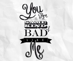 Typography quote by Claudia Di Berardino, via Behance