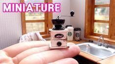 미니어쳐 커피 그라인더 만들기 miniature- Coffee grinder