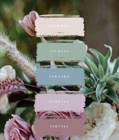 House Color Palettes, Color Schemes Colour Palettes, Colour Pallette, Color Palate, Wedding Color Schemes, Color Combos, Wedding Colors, Spring Wedding, Dream Wedding
